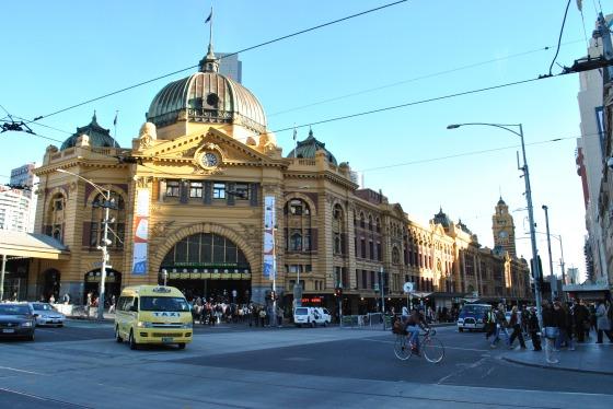 Flinders Station, Melbourne Australia